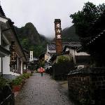 Die Hauptstrasse von Okawachiyama