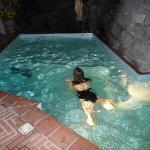 Petite piscine couverte