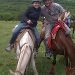 horseback rising w treasure cove ranch