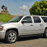 Perata Luxury Car Services fully outfitted 2010 Chevrolet Suburban LTZ