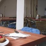 Breakfast room, great breakfast