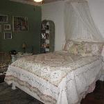 Poolside suite bedroom
