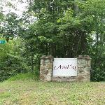 Entrance to the Avalon Resort & Community.