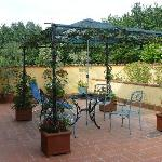 Outdoor terrace..