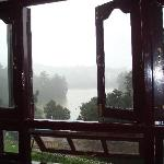 View of Ooty lake from the my room