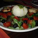 Delicious Buffalo Mozzarella salad!