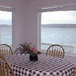 Water view from dining room