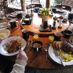 Breakfast at Tu Tu Tun Lodge