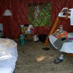 Inside of Yurt#1