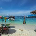Best pitstop of the day - Khai Islands