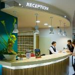 Spa Resort Sanssouci Karlovy Vary / reception Green House