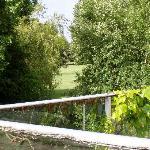 Vue terrasse vers golf