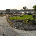Vista spiaggia villaggio