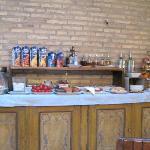 Breakfast buffet selection