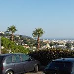 ETAP Mougins, Blick nach Cannes