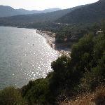 Strand Psili Amos (2,5 Km)