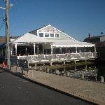 Boathouse-outside dining