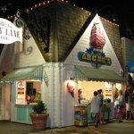 Exterior of Archie's Ice Cream