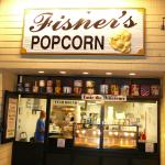 Exterior to Fisher's Popcorn in Rehoboth Beach