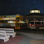 The Jolly Trolley at the Rehoboth Bandstand
