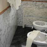 toilet and bidet,