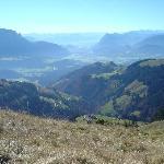 Ausblick vom Berg, Ausgangspunkt Walchsee