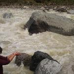 archana at the river