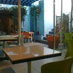 Sala de desayunos del hotel Parrots