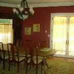 dining room, very elegant