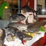 Fish night in main restaurant