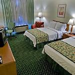 Clean comfortable beds and rooms!