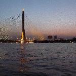 Saphan Rama VIII et Chao P River