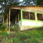 Dinning room at Tikal Sak Luk