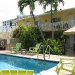 pool and resort