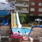 Big blue hotel 1 of 2 swimming pool