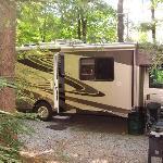 Campsite at Black Frest