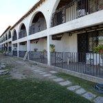 Back of Apartment Units at ex - Hacienda La Petaca