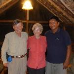 My husband and I and Marcelo Andy, our bird guide