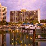 The beautiful Hyatt Regency Sarasota on Sarasota Bay