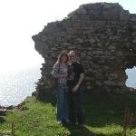 Us at Newark Castle, St Monans