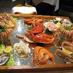 Legendary Seafood platter for night 3