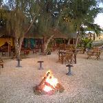 beach+fire area