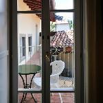 door to balcony, Room 12