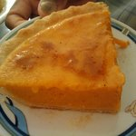 Sweet Potato Pie (yes this is one serving!)
