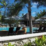 Pool area/Resturant