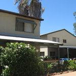 the hostel exterior