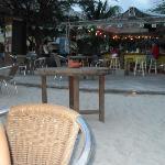 View of the bar around 6p.