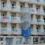 collapsed balcony?