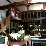 The beautiful Restaurant Dining Room