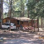 view of our cabin, no. 2